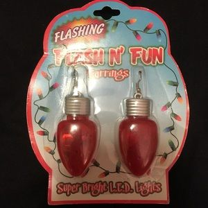 Flashing Flash N' Fun Earrings